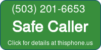 Phone Badge for 5032016653