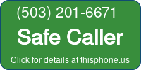 Phone Badge for 5032016671