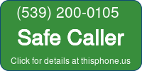 Phone Badge for 5392000105