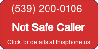 Phone Badge for 5392000106