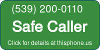 Phone Badge for 5392000110