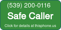 Phone Badge for 5392000116