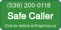 Phone Badge for 5392000118
