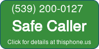 Phone Badge for 5392000127