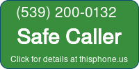 Phone Badge for 5392000132