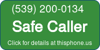 Phone Badge for 5392000134