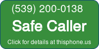 Phone Badge for 5392000138
