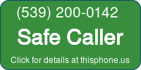 Phone Badge for 5392000142