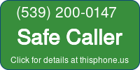 Phone Badge for 5392000147