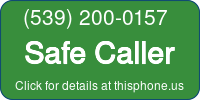 Phone Badge for 5392000157