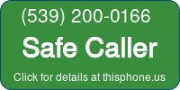 Phone Badge for 5392000166