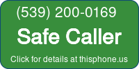 Phone Badge for 5392000169