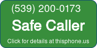 Phone Badge for 5392000173