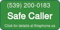 Phone Badge for 5392000183