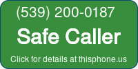 Phone Badge for 5392000187