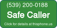 Phone Badge for 5392000188