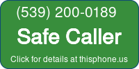Phone Badge for 5392000189