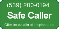Phone Badge for 5392000194