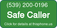 Phone Badge for 5392000196