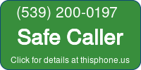 Phone Badge for 5392000197