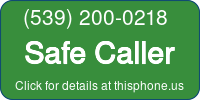 Phone Badge for 5392000218