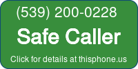 Phone Badge for 5392000228