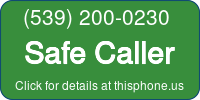 Phone Badge for 5392000230