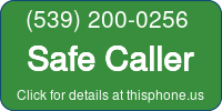 Phone Badge for 5392000256