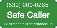 Phone Badge for 5392000265
