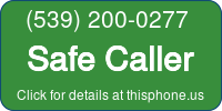 Phone Badge for 5392000277
