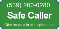 Phone Badge for 5392000280