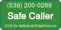Phone Badge for 5392000289