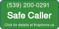 Phone Badge for 5392000291