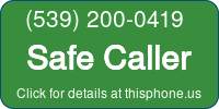 Phone Badge for 5392000419