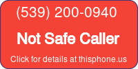 Phone Badge for 5392000940