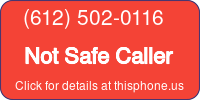 Phone Badge for 6125020116