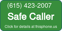 Phone Badge for 6154232007