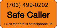 Phone Badge for 7064990202