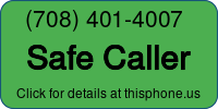 Phone Badge for 7084014007