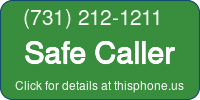 Phone Badge for 7312121211