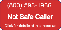 Phone Badge for 8005931966