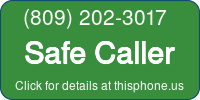 Phone Badge for 8092023017