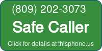 Phone Badge for 8092023073