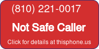 Phone Badge for 8102210017