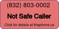 Phone Badge for 8328030002