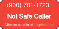 Phone Badge for 9007011723