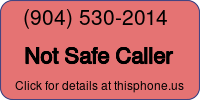 Phone Badge for 9045302014