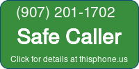Phone Badge for 9072011702