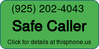 Phone Badge for 9252024043