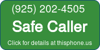 Phone Badge for 9252024505